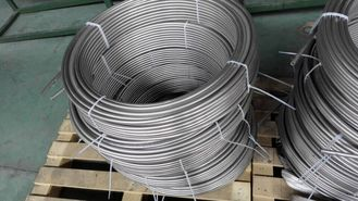 China ASTM A213, ASTM A269,EN10216-5 Seamless SS Pipe Stainless Coiled Tubing For Heater Tubing Line supplier