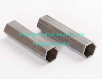 China Precision Hexagonal Special Shape Pipe , Seamless Stainless Steel Tube 50mm supplier