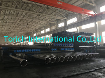 China Low Carbon Seamless Steel Tube DIN 1629 St37.0 Non - Alloyed Steel Pipe supplier