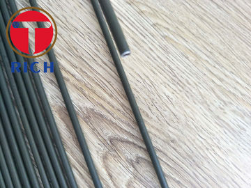 China Round Automotive Steel Tubes , Carbon Steel Pipe Zinc Plating And PVF Coating supplier