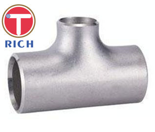 China TORICH Welded Stainless Steel Reducing Tee GB/T12459 Steel Fittings for Machinery Parts supplier