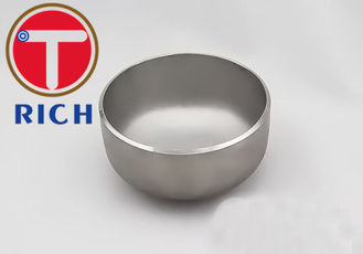 China Cold Work Tube Machining Pipe End Cap Iso9001 Approval For Petroleum / Chemicals supplier