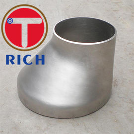 China Stainless Steel 304 / 316 Butt Weld Pipe Fittings Eccentric Reducer For Petroleum supplier