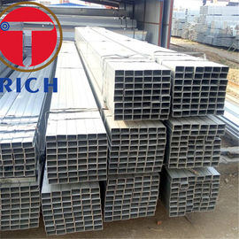 China Hot Rolled Q235B ERW Carbon Steel Welded Pipe 200-220g/Sm Zinc Coating supplier