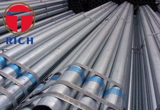 China ASTM A53 A106 GI Carbon Steel Pipe Galvanized Tube for Water and Gas tube supplier
