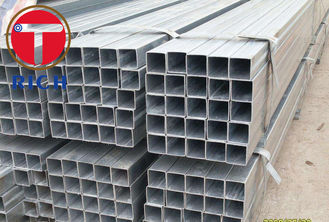 China ASTM A213 A106 A53 Galvanized Square Rectangular Steel Pipe GI Steel Tube for Fluid Pipe supplier