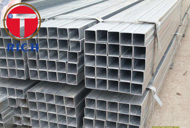 China Hot Dip Welded Stainless Steel Welded Tube Rectangular For Construction Structure supplier