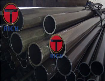 China Black Coated Cold Drawn Carbon Steel Heat Exchanger Tubes 6 - 760 mm Outer Dia supplier