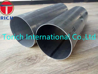 China Round Aluminized Welded Carbon Steel Tube OD 127mm WT 1.5mm For Automotive Parts supplier