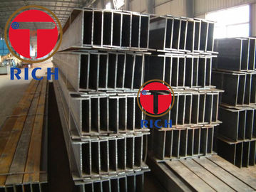China Welded Construction Structural Steel Pipe H Beam For Garden Building And Bridge 100*50*5*7 supplier