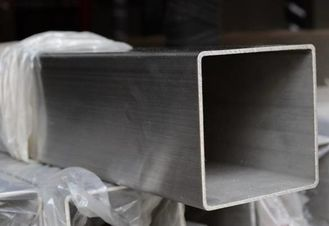 China ASTM A554 Stainless Steel Welded Pipe / Square Steel Tubing For Mechanical supplier