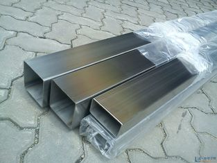 China ASTM A554 Welded Stainless Square Steel Tube for Mechanical 304 316 supplier