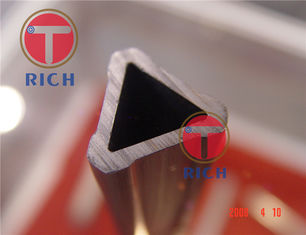 China Steel Grade Structural Steel Pipe , Special Triangle Steel Tube For Furniture supplier
