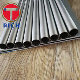 China Round Seamless Titanium Pipe Alloy Steel Pipe For Condenser / Stainless Steel Tubing For Heater Exchanger supplier