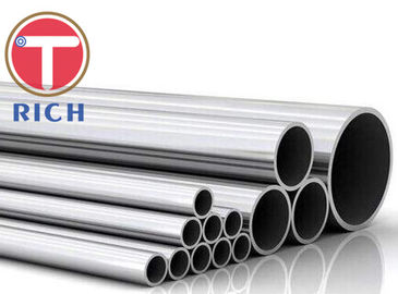 China ASTM A270 Stainless Steel Sanitary Pipe , Hot Finished Seamless Tube Food Grade supplier