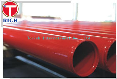 China Hot Dipped Welding Steel Tubing ASTM A795 / Welded Fire Protection Pipes Zinc - Coated supplier