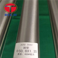 China Stainless Steel Welded Precision Steel Tube 100% PMI Mirror Polishing supplier