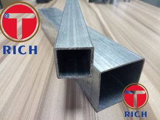 China Hot Dipped ERW Galvanized Square Alloy Steel Pipe Rectangular Pipes supplier