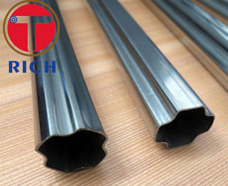 China Hot Dip Galvanized Octagonal Welded Steel Tube 2.0 - 10 Mm Thickness supplier