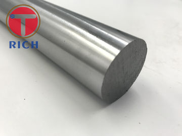 China CK45 1045 12mm Induction Hydraulic Cylinder Tube Chrome Plated Steel Piston Rod supplier