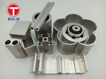 China Extruded Textile Industry Industrial Special Steel Profiles Rectangular Aluminum Extrusion supplier