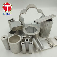 China Wrought Aluminium Special Alloy Steel Extruded Profiles For General Engineering supplier