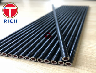 China Double Wall Bundy Automotive Steel Tubes For Brake System SAEJ526 Nylon / Galfan Coating supplier