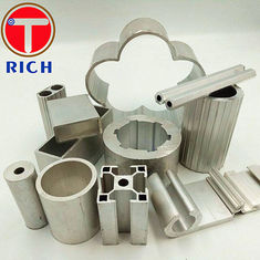 Durable Hot Extrusion Aluminum Profile GB/T6892 Material 6063 6061 6082 1060