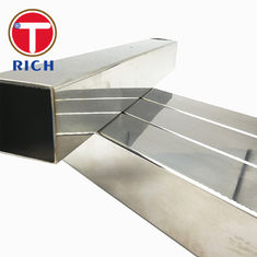 China Industrial Rectangular Steel Tubing 304 316 321 Polishing Hairline 0.3 - 2.0mm Thickness supplier
