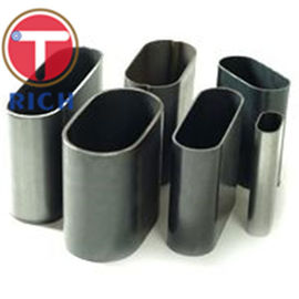 China Flat Sided Elliptical Welded Carbon Steel Pipe Oiled Surface High Strength supplier