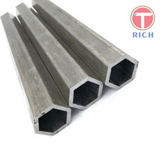 China Cold Drawn Carbon Seamless Steel Tube Hexagonal Steel Tube Max 12000mm Length supplier