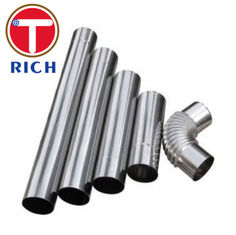 China ASTM A554 Welded Stainless Steel Tube Exhaust System Flex Pipe Polished Surface supplier