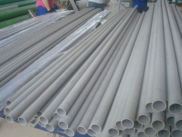 China Low Carbon Seamless Nickel Alloy Pipe For Heat Exchangers / Condensors supplier