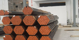China ASTM A106 A53 API 5L Structural Steel Pipe , Carbon Steel Seamless Tube supplier