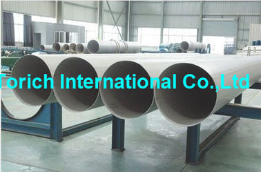 China A358/A358M High Temperature Inconel Welded Stainless Steel Tube / Electric Fusion Welded Pipe supplier
