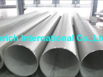 China High Temperature Chromium Nickel Alloy Tube A358 / A358M Welded Stainless Steel Pipe supplier