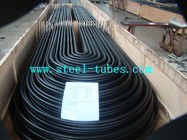 China U Bend Tube A 556 / 556M Cold Drawn Carbon Feedwater Heater Black Seamless Steel Pipe factory