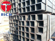 China API 5L Galvanized Square and Rectangular Steel Pipes GI Steel Tube Gas Pipe for Liquid Delivery factory