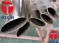 Welded Thin Wall 610mm OD Oval Stainless Tubing