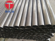 Small Diameter Welded Steel Tube Stainless Steel Pipe Round Shape 4 - 12m Length