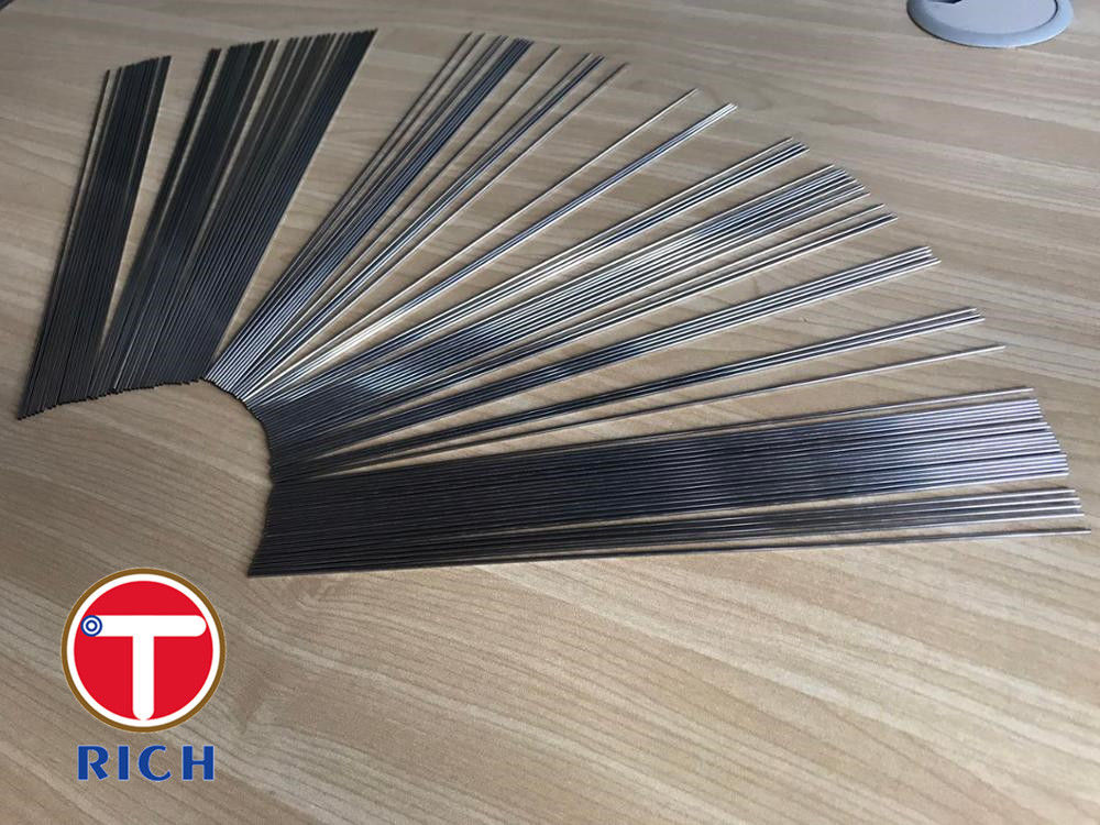 Welded Stainless Capillary Stainless Steel Tube 12cr18ni9 06cr18ni11ti