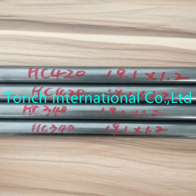 Customized Length Welded Steel Pipe HC340 HC420 10-50mm OD For Automobile Parts