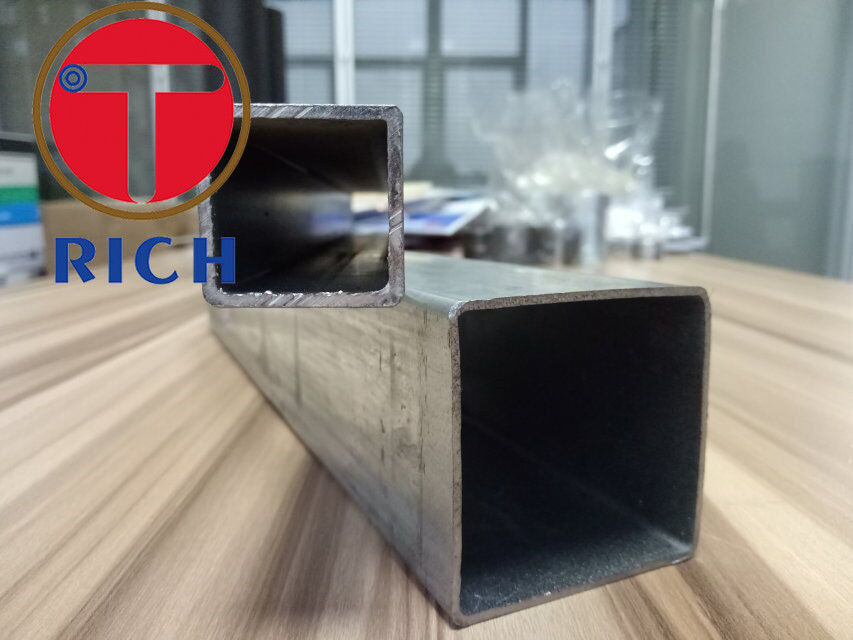 Square Galvanized Welded Steel Pipe / Seamless And Welded Pipe A53 Q195-Q235