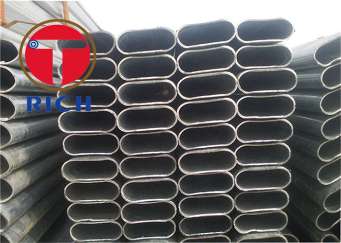 Elliptical Pipe Q195 - Q345 Seamless Carbon Steel Tubing Oval Steel Tube