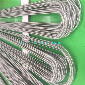 ASTM B111 U Bending Cold Drawn Seamless Copper Alloy Tubes  C68700  C71500 C68700