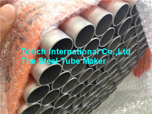 Titanium Alloy Steel Pipe GB/T 3624 Low Density For Petrochemical / Automobile