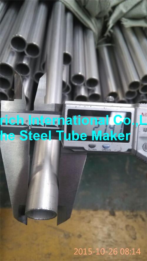 Low Carbon Seamless Nickel Alloy Pipe For Heat Exchangers / Condensors