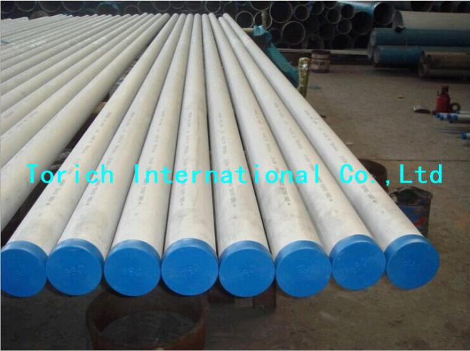 Round Stainless Steel Heat Exchanger Tube High Efficiency Boiler Tube
