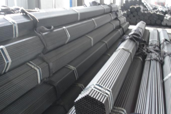 Carbon Steel Heat Exchanger Tubes , DIN17175 Steam Boiler Seamless Steel Tubes
