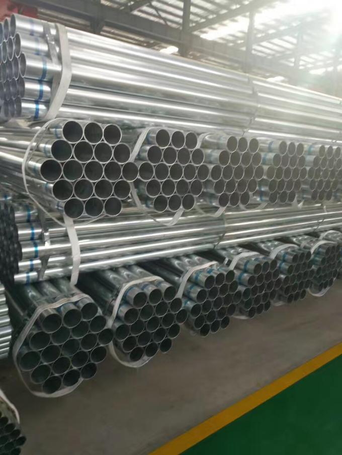 Galvanized DIN 2440 EN10255 Threaded Welded Seamless Steel Pipe For Transportations